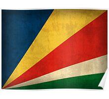 Seychelles Flag Poster