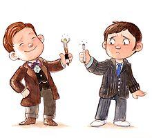 Screwdriver Envy - Doctor Who Inspired Art by SenseiEmu