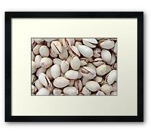 Pistachio Nuts Framed Print