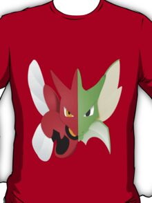 Syther #123 and Scizor #212 T-Shirt