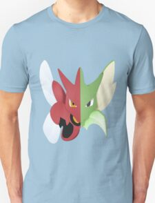 Syther #123 and Scizor #212 Unisex T-Shirt