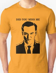 Moriarty - Did You Miss Me? T-Shirt