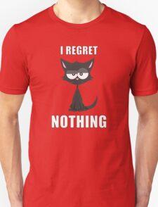 Kittyworks - I Regret Nothing T-Shirt