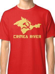 Crimea River 3 - Yellow Classic T-Shirt