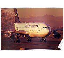 Airbus A340-200 Aerolineas Argentinas Poster