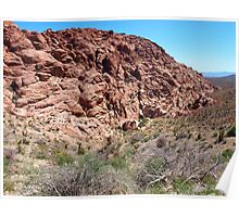 Red Rock Canyon Scenery Poster