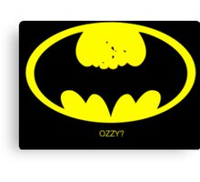 Batman Ozzy Canvas Print