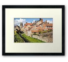 Helmsley in Spring Framed Print