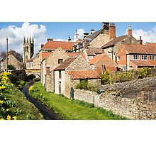 Helmsley in Spring Photographic Print