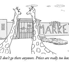 Giraffes and low prices by pdcdec