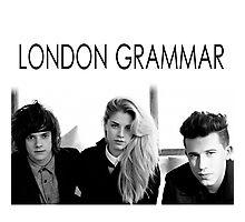 London Grammar band Photographic Print