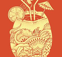 Drunk Toucan  by TonyRiff