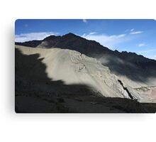 Afternoon Light near Shang Sumdo, Ladakh Canvas Print