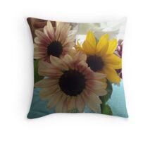 Flower Bouquet #2 Throw Pillow