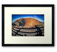 The Mont and the Photographer Framed Print