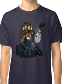 Totoro and Cat Bus Classic T-Shirt