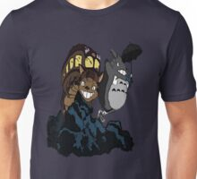 Totoro and Cat Bus Unisex T-Shirt