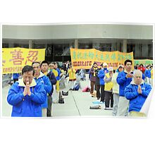 Falun Gong Practitioners Poster
