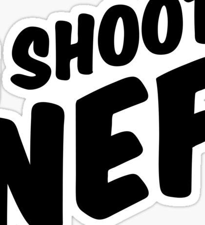 I shoot NEF Sticker