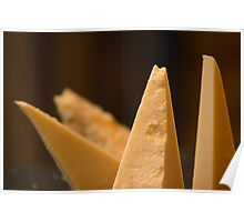 Cheese triangles Poster
