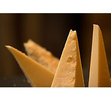 Cheese triangles Photographic Print