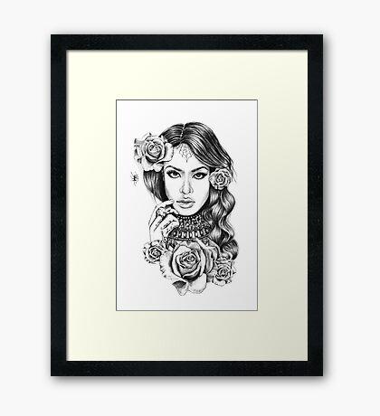 Aaliyah Framed Print
