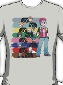 Red vs. T-Shirt