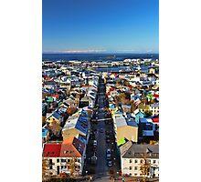 Reykjavik Cityscape Photographic Print