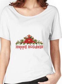 Happy Holidays Women's Relaxed Fit T-Shirt