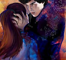 Sherlock and Molly by Loorae