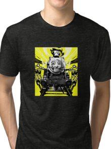 Thomas the Fright Train Tri-blend T-Shirt