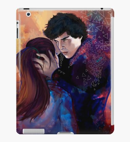 Sherlock and Molly iPad Case/Skin