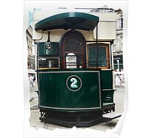 Old Tram Dundee Poster