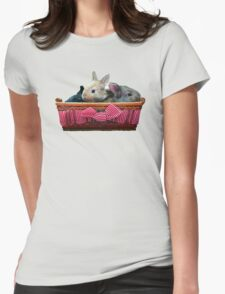 Happy Bunnies Womens Fitted T-Shirt