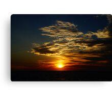 Sunset - Darwin NT Autralia Canvas Print