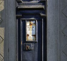 Victorian Post Box by Nigel Bangert