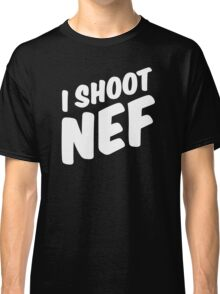 I shoot NEF Classic T-Shirt