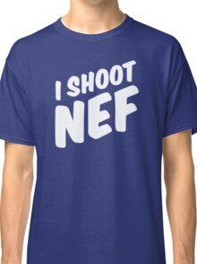 I shoot NEF Classic T-Shirt