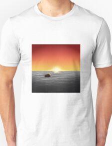 Burger At Sea Unisex T-Shirt