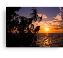 Sunset Darwin - NT Australia Canvas Print
