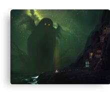 The Nearest Shore to R'lyeh Canvas Print