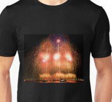 Fireworks at Yokohama Unisex T-Shirt
