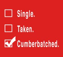 Single. Taken. Cumberbatched. by FandomsFriend