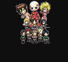 Attack on Titan Chibi Group Unisex T-Shirt