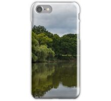Green and Gray Summer Mirror iPhone Case/Skin