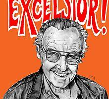 Stan Lee Excelsior  by silentkidsolo