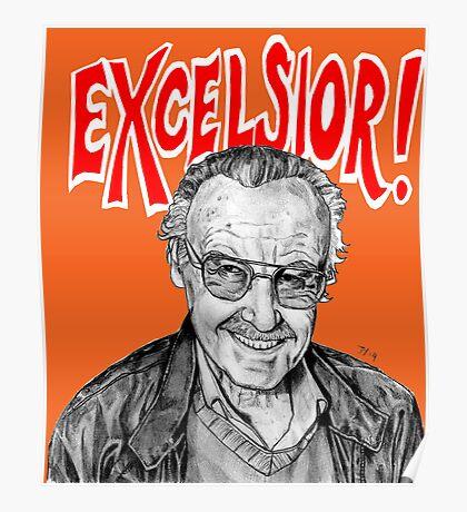 Stan Lee Excelsior  Poster