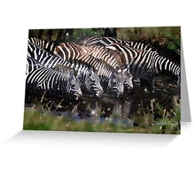 Sparkles and Stripes Greeting Card