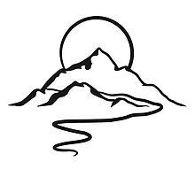 Mountains hiking Alpine Sun by Style-O-Mat