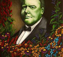 Fields of Flowers (W.C. Fields) by Janna Cross